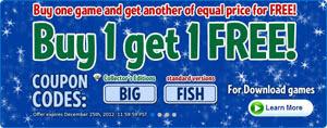 Big Fish Games December 2012 Promotion