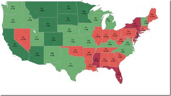 Dec LPS percentage non current state map