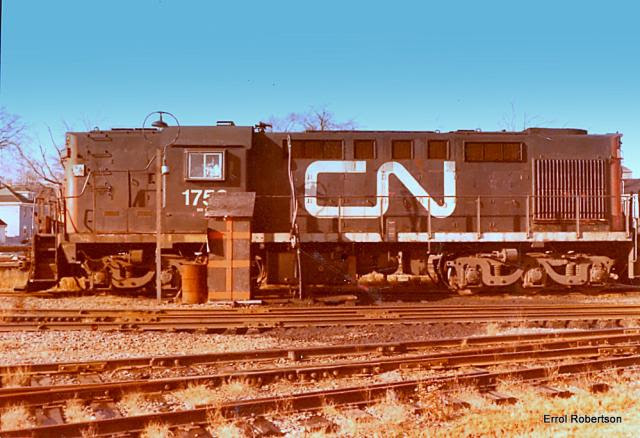 CN 1753 in Charlottetown, by Errol Robertson