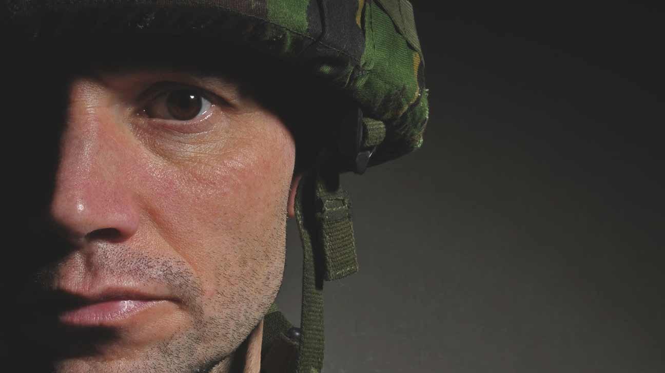 Gulf war soldier