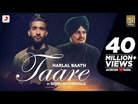 TAARE - Sidhu Moosewala & Harlal Batth   Latest Punjabi Song 2020