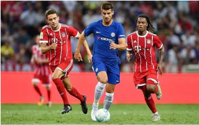 Morata Make His Debut As Bayern Munich Beat Chelsea 3-2 In The International Champions Cup [Watch Goals Highlight]