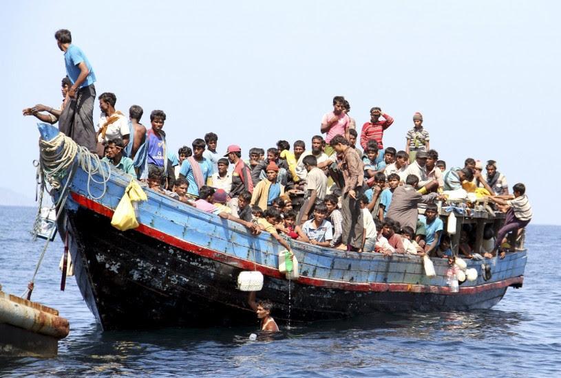 Tailandia intercepta una embarcación con 200 rohingya en el sur del país