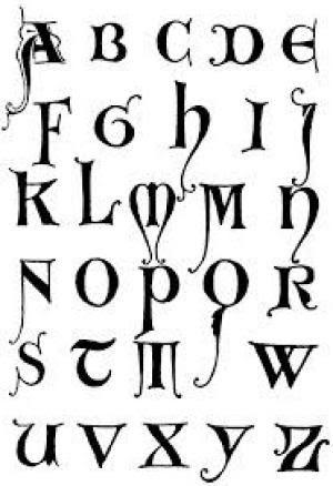 Letras Para Tatuajes Goticas Cool With Letras Para Tatuajes Goticas