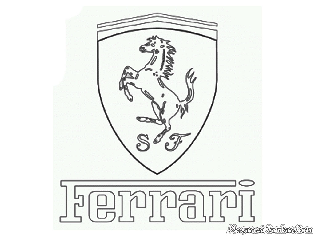 The Best Free Ferrari Coloring Page Images Download From 193 Free