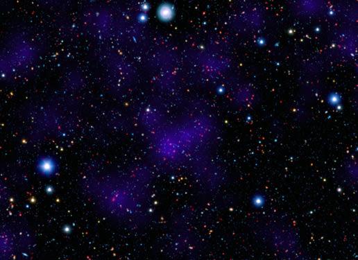 Primitive cluster of galaxies