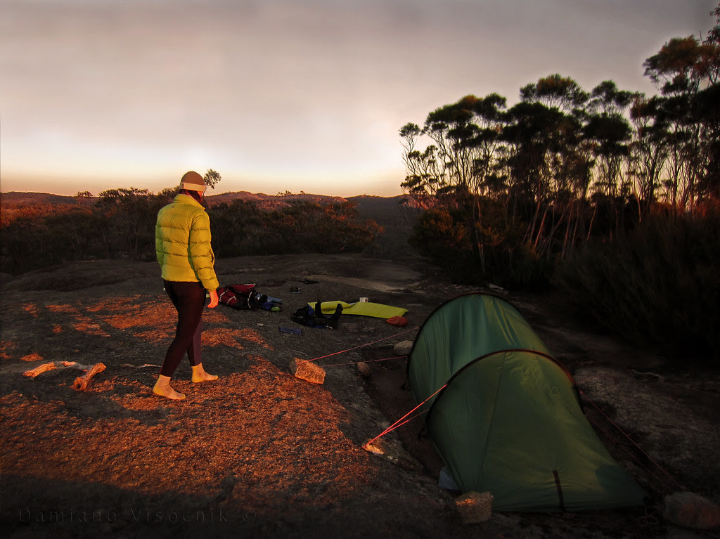 Sunset camp on top_c