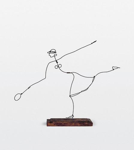 Alexander Calder 'Helen Wills' 1927 (via Art Blart)