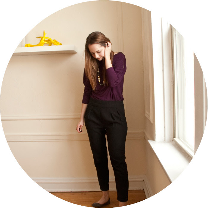 march outfit, simple office outfits, black and purple, stella and dot graceful nomad, cropped pants with pointy flats
