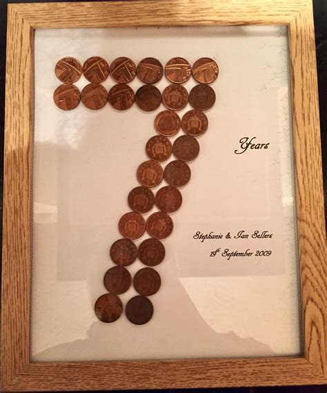 7th wedding anniversary (copper) gift   Miscellaneous
