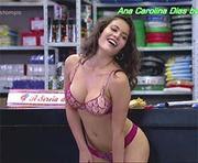 Ana Carolina Dias super sensual na novela Fina Estampa