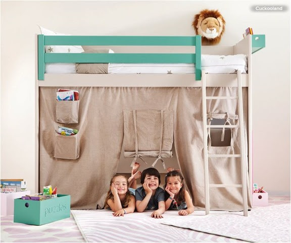 bunk bed fort