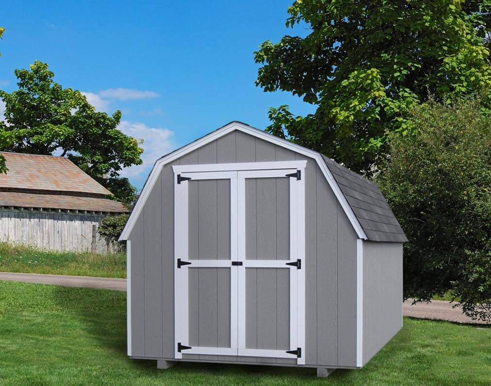 Value shed 4ft gambrel barn by little cottage co