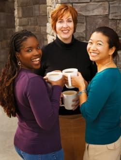 Photo of three women