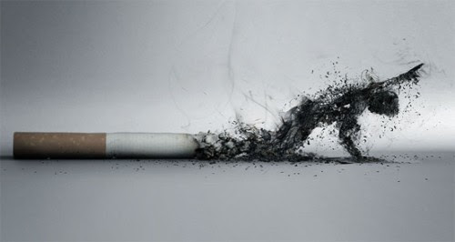 top 45 creative anti smoking advertisements 0012 Bahaya Rokok Bagi Kesehatan