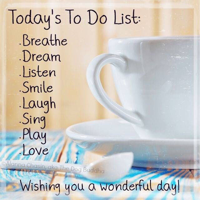 Good Morning To Do List Pictures Photos And Images For Facebook