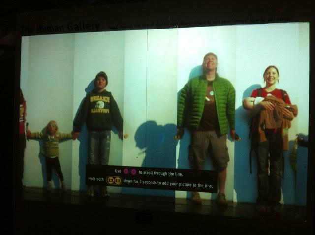 Family pic at the Exploratorium