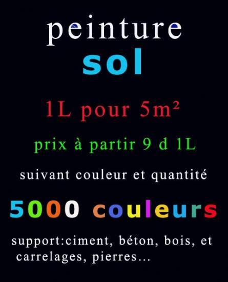 Peinture Sol En Tunisiegouletterevetement Solétanchetous Supports