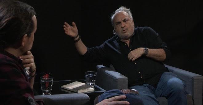Pablo Iglesias entrevista a Jorge Alemán, psicoanalista y escritor argentino en 'Otra Vuelta de Tuerka'.
