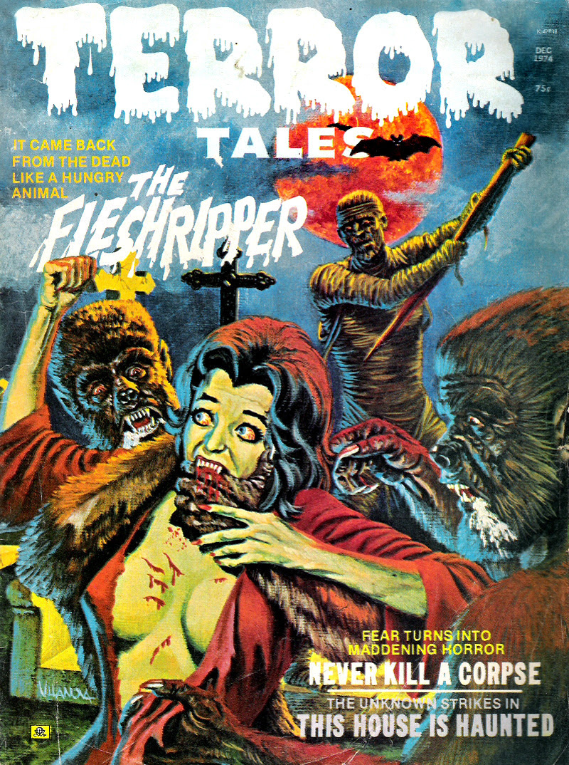 Terror Tales Vol. 06 #6 (Eerie Publications, 1974)