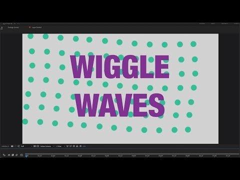 Cara Menggunakan Wiggle Di After Effects Untuk Membuat Gelombang