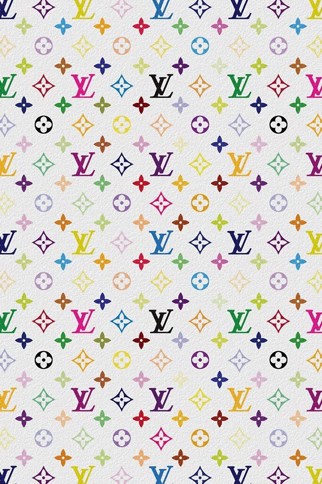 Backgrounds Louis Vuitton Multicolor White Ipad Iphone Hd