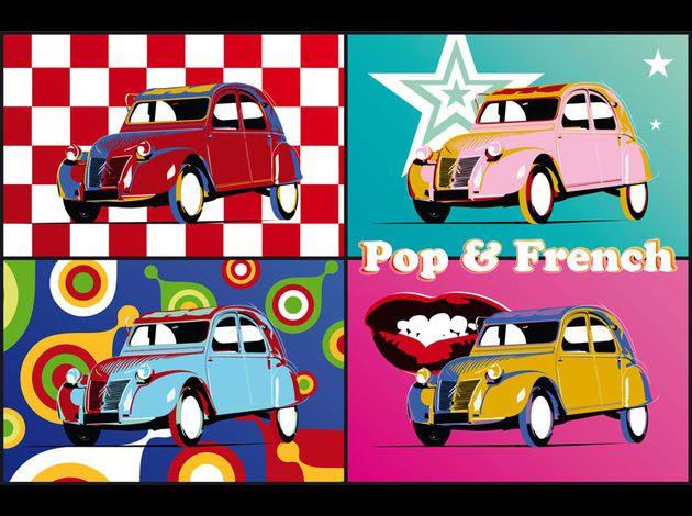 Citroën 2CV 1955 Pop'Art Cars Art Pop&French