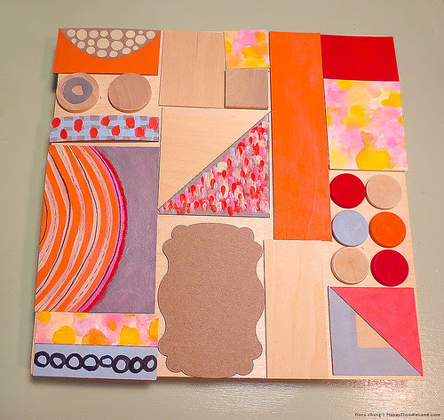 Patchwork Collage WIP