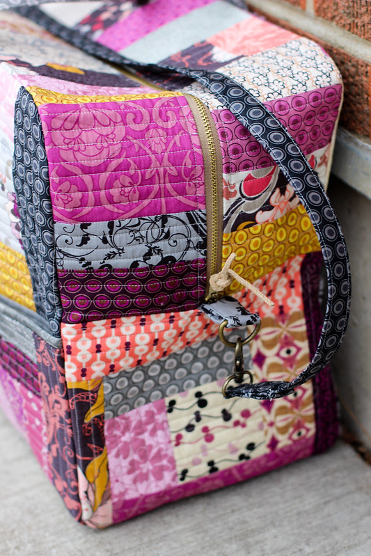 Patchwork Duffle Bag