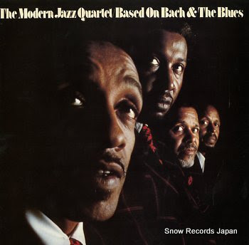 MODERN JAZZ QUARTET, THE based on bach and the blues