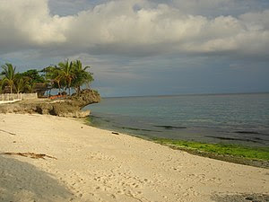 Beach in Anda, Bohol, Philippines