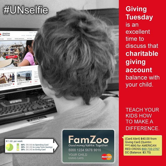 Make an #UNselfie on #GivingTuesday