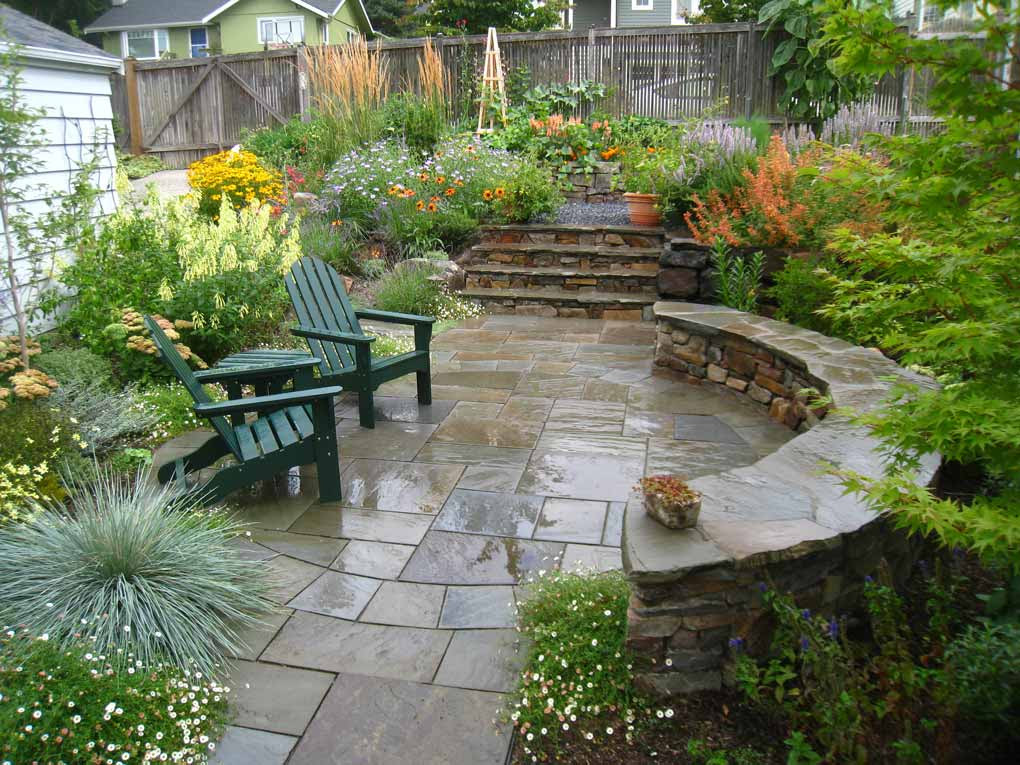 Seattle Garden For Outdoor Living Phil Wood Garden Design
