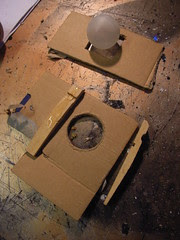 Prototype automata eye socket housing