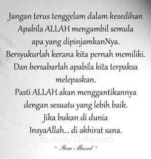 mencari redha allah mutiara kata islam