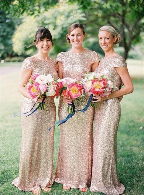 Sequin Bridesmaid Dresses   DressedUpGirl.com