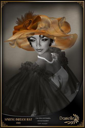 DANIELLE Spring Dream Hat Sun