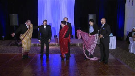 Toronto Indian Wedding Game at A 25th Wedding Anniversary