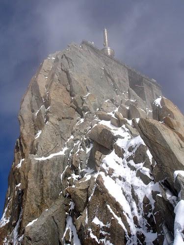 Aiguille du midi Mont-Blanc Chamonix