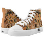 Personalize: Abstract Nature Photo Autumn Leaves Printed Shoes