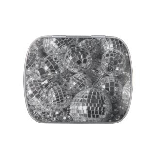 Disco Ball Ornaments Jelly Belly Tin
