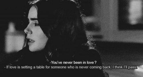 Love Quote Black And White Quotes Feelings Lily Collins Stuck In