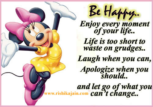 Be Happy Enjoy Every Moment Of Your Life Daily