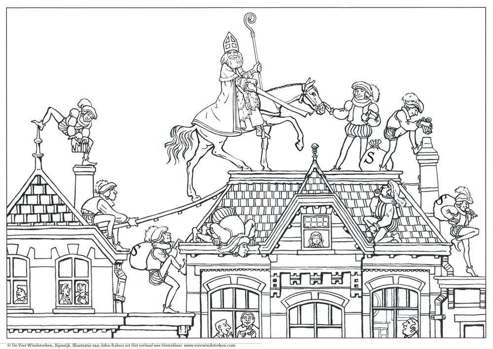 Kleurplaten Volwassenen Sinterklaas.Clarinsbaybloor Blogspot Com Kleurplaat Volwassenen Sint