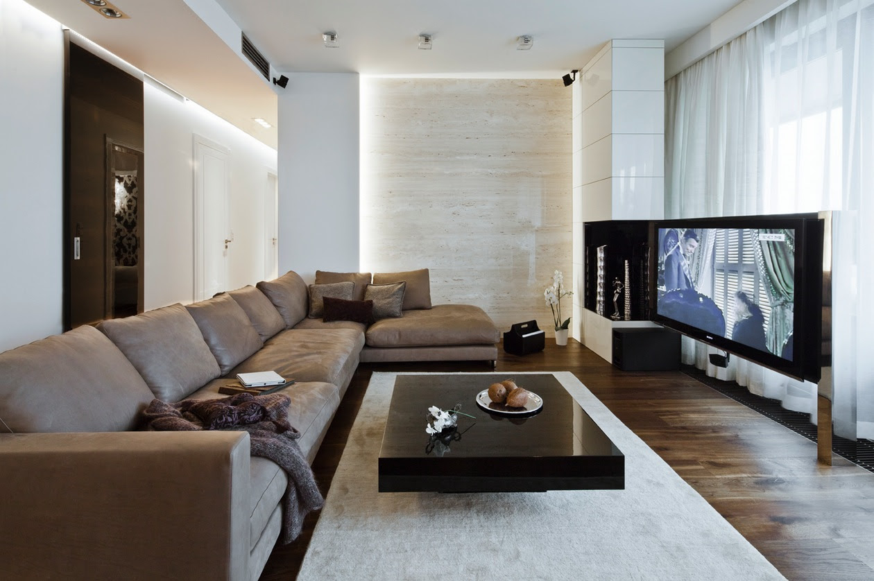 Lounge Design Ideas modern living room designs lounge design ideas Sleek And Sumptuous Poland Apartment
