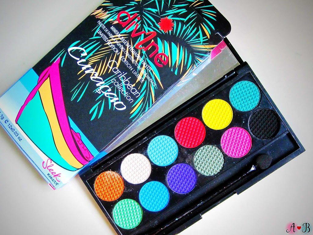 Sleek Curacao Eyeshadow Palette