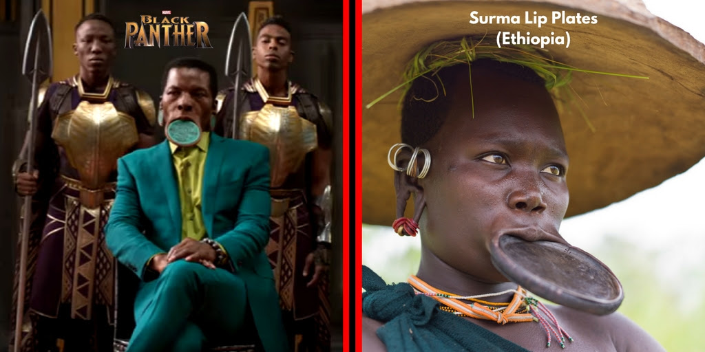 Different African Cultures That Inspired The Costumes In Black