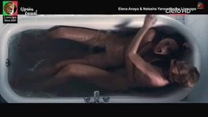 Elena Anaya and Natasha Yarovenko nude in movie Habitacion en Roma #6