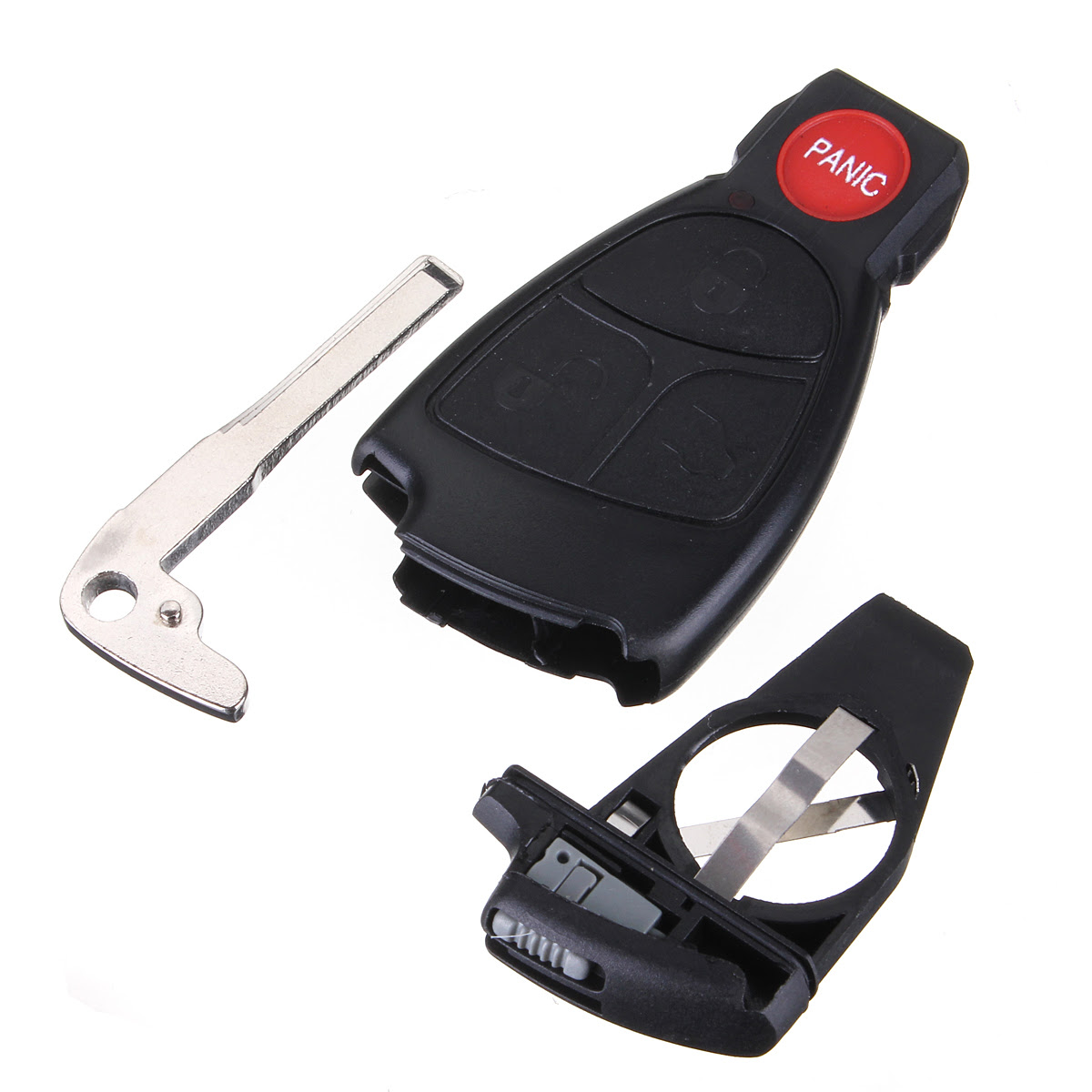 3 1 BNT Remote Key Fob Replace Case Shell Battery Holder ...