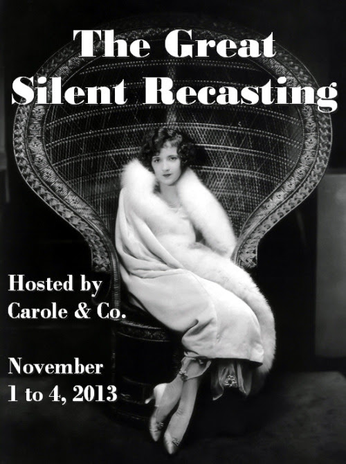 The Great Silent Recasting Nov. 1-4